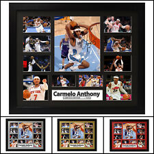 Carmelo Anthony Signed Framed Memorabilia Limited Edition -V1-
