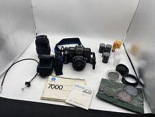 Minolta 7000 Camera And Accessories