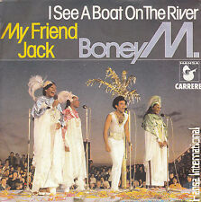 "7"" 45 TOURS FRANCE BONEY M My Friend Jack / I See A Boat On The River 1980 DISCO"