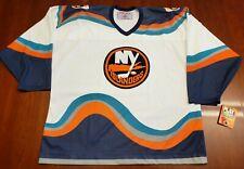 New York Islanders Vintage CCM Jersey Wave Fisherman