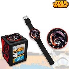 Analog Wrist Watch Star Wars Darth Vader 4in1 Piggy Bank Picture kids