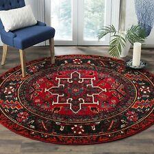 New Safavieh Vintage Hamadan Traditional Oriental Antiqued Area Rug 9' Round