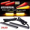 UltraSlim Switchback 29LED Brake Stop DRL+Amber Flowing Turn Signal Light 2Color