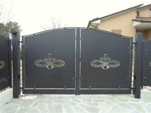 Pannelli per cancello con disegni personalizzati 1500x1500x 3 mm