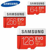 Micro SD Card SamSung Evo Plus 64GB,128GB,256GB Class 10 SDHC SDXC Memory Card