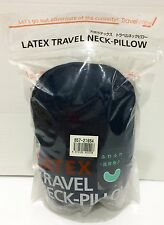 Japan Import NEW LATEX TRAVEL NECK PILLOW