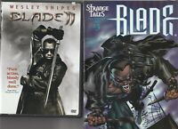 BLADE 9  COMIC LOT ALL FPLUS TO NM PLUS DVD  BLADE 2 USED IN EXC COND
