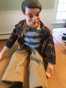 Vintage Ventriloquist Dummy Doll puppet