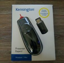 Kensington Pointer Presenter Expert For Windows/ Mac Cursor Control Black