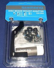 Shimano Disc Brake Adapter, Post to IS Mount, REAR, 180mm rotor, SM-MA-R180P/S