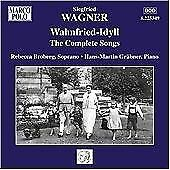 Siegfried Wagner - Wahnfried-Idyll: The Complete Songs of (2010)