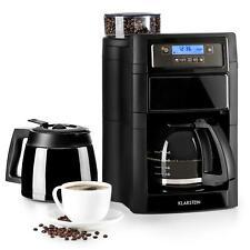 Cafetière 1,25L Machine à café Broyeur Verseuse verre Filtre permanent 1000W