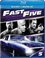 Fast Five (Blu-Ray + Digital HD)