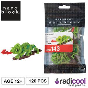 NBC143 nanoblock Chameleon [Mini Collection Series] Micro-Sized 120 pcs Age 12Y+