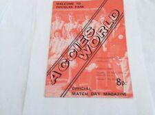 Hamilton  v Queens Park  Scottish Leauge Division 2  April 1975