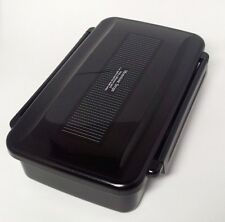 Japanese Mens Lunch Box Black Bento with Chopsticks BL-17H 850ml  Made in Japan