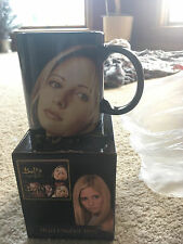 Buffy Vampire Licensed Heat Changing Coffee Mug Cup New For 20Th Anniv S/Out!