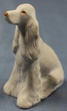 cocker Hund Figur Porzellanfigur bisquit 1970 porzellan hollohaza ungarn dog 2