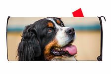 Bernese Mountain Dog Magnetic Vinyl Mailbox Cover  Made in the USA