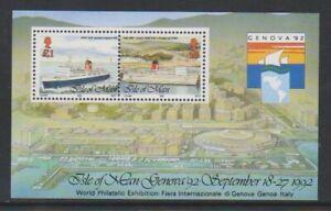 Île de Man - 1992,Genève '92 Internationnal Exposition,Feuille - MNH - Sg MS531