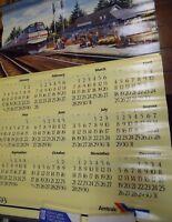 Amtrack 1993 Wall Calendar 33 x 23.5 112717DBP