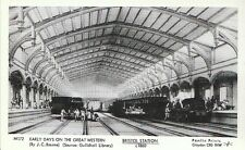 Railway Postcard - Early Days On The Great Western - Bristol Station c1860 -2553