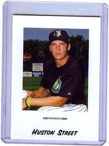 "Huston Rue "" 81 Carte Lot "" 2004 Seulement Mineurs Rookie #79 ! Liquidation"