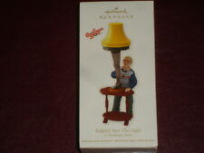 NIB HALLMARK ORNAMENT 2012 A Christmas Story Ralphie Sees The Light Lamp Leg NEW