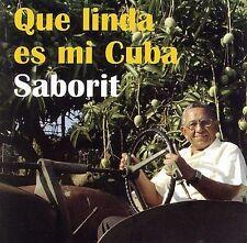 FREE US SHIP. on ANY 2 CDs! ~LikeNew CD Saborit: Que Linda Es Mi Cuba