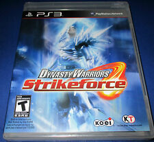 Dynasty Warriors:Strikeforce Sony PlayStation 3 (PS3) Factory Sealed! Free Ship!