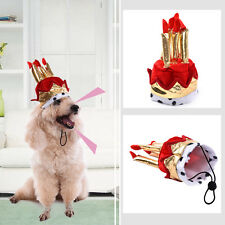 Dog Cat Birthday Cake Candle Hat Pet Clothing Party Costume Birthday Cute Gift