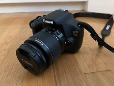Canon EOS Rebel T5 Digital SLR Camera + 18-55mm IS Lenses + 10-18mm