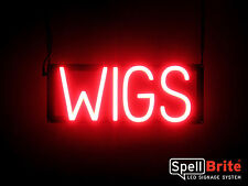 SpellBrite Ultra-Bright WIGS Sign Neon look LED performance