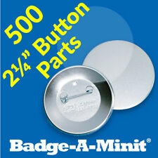 "Badge-A-Minit 500-2 1/4"" Pin-Back Button Sets #3011 NEW"