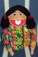 Large custom People Puppet Girl w/moving mouth & changeable clothing-ministry