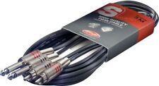 Câbles et connecteurs d'équipement audio professionnel Stagg