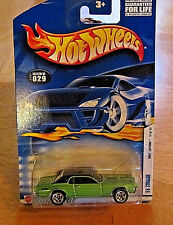 COLLECTORS HOT WHEELS '68 Cougar #029 First Editions 17 of 42 GREEN NEW RARE HTF