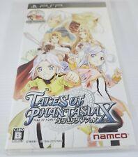 Tales of Phantasia Narikiri Dungeon X Japan Version Namco Psp