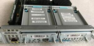 CISCO  SM-SRE-910-K9   with DUAL 500GB hard drives CISCO 2911 2921 2951 3900