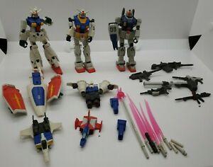 Gundam bandai mobile suit Action Figure SA.S sas 2001 lot guns weapons