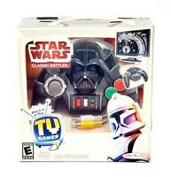 NEW Star Wars Classic Battles Plug and Play TV Game Jakks Pacific 5 Games in 1