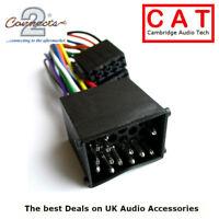CT20BM01 BMW Round Pin E46 E39 E38 3 5 7 Series Car Radio ISO Harness Adaptor