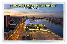 LUDWIGSHAFEN AM RHEIN GERMANY FRIDGE MAGNET SOUVENIR IMAN NEVERA