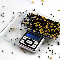 Pocket Digital Jewelry Scale Weight 500g x 0.01g 0.1g Balance Electronic Gram AU