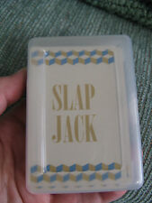 NEW SLAP JACK CLASSIC PLAYING CARDS CARD GAME W/CASE--STOCKING STUFFER