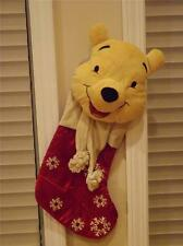 "NWT Disney Store Winnie The Pooh Christmas Stocking 22"""