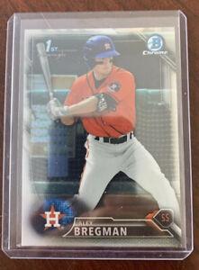 Alex Bregman 2016 Bowman Chrome BCP-4 RC. Astros
