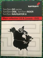 TomTom NAVIGATOR 6 US & Canada DVD-ROM - GPS Software ONE RIDER GO - w/Access #