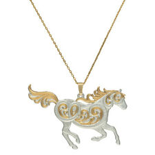 Montana Silversmiths Run Free Pendant Necklace