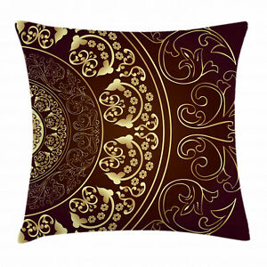 """Ambesonne Throw Pillow Cover for Bed and Couch Square Design 16"""" 18"""" 20"""" 24"""""""